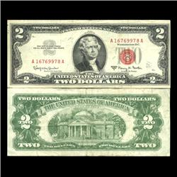 1963A $2 US Note Crisp Circulated (CUR-06037)