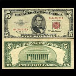 1953A $5 Silver Certificate Circulated (CUR-06050)