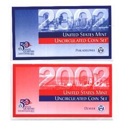2002 US Coin Original Mint Set GEM Potential (COI-2302)