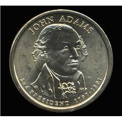 2007D Adams Prez Dollar ICG Graded Super Gem MS67 GEM (COI-6410)