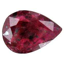 1.27ct Awesome Blood Red Ruby Cushion Africa (GEM-19543)