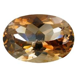 25.52ct 100% Unheated Flawless Beautiful Imperial Topaz  Appraisal Estimate $51040 (GEM-24623B)
