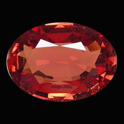 .42ct Intense Orange Sapphire Oval Facet (GMR-0998)