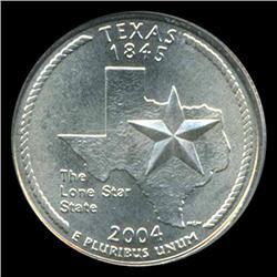 2004D TX Quarter PCGS MS68 (COI-5456)