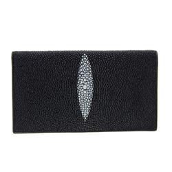 Unisex Stingray Hide Checkbook Wallet (ACT-060)