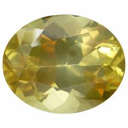 5.64ct Amazing Rare Natural Yellow Andesine Appraisal Estimate $1128 (GEM-19637)