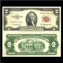 1953A $2 US Note Crisp Uncirculated SCARCE (CUR-06032)