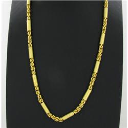 "22k Gold Vermeil Necklace 23"" (JEW-1397)"