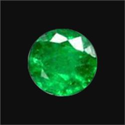 3mm White Zircon Round Diamond Cut (GMR-1039)