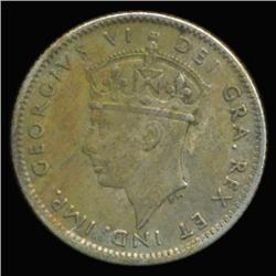 1943 Canada Newfoundland 10c Silver Hi Grade RARE (COI-6741)