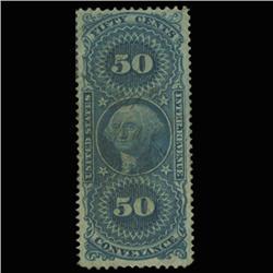 1862 US 50c Documentary Revenue Stamp NICE (STM-0551)
