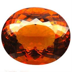 170.5ct Huge Madeira Citrine Oval Alluring (GEM-23022)
