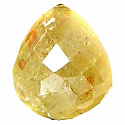 0.59ct Amazing Rare Yellow Briollite Diamond (GEM-19633)
