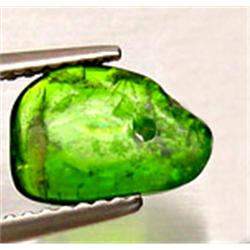.5ct Fabulous Fancy Green Chrome Diopside Briolette (GMR-0286)