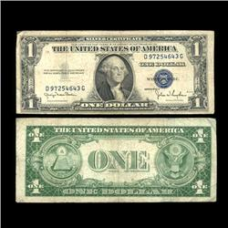 1935D $1 Silver Certificate Nice Condition SCARCE (COI-4701)
