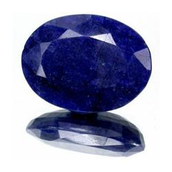 8+ct. Rich Royal Blue African Sapphire Oval Cut (GMR-0031A)