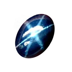 0.91ct  6 Ray Blue Star Sapphire  (GEM-24428A)