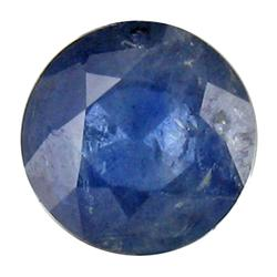 0.62ct Round Shape Natural Blue Sapphire (GEM-25287C)