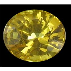 0.86ct Nice Natural Yellow Sapphire (GEM-25114B)