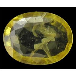 1.45ct Pretty Yellow Natural Sapphire  (GEM-25257A)
