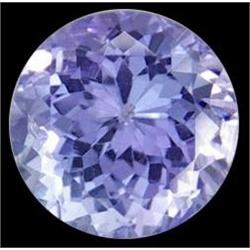 0.12ct Top AAA Round Cut Blue Tanzanite (GEM-12222D)