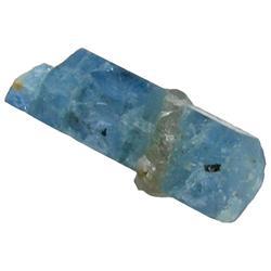 9.7ct Brazilian Blue Aquamarine Crystal Rough Brazil (GEM-24327)