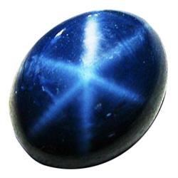 4.14ct 6 Rays Blue Star Sapphire  (GEM-26374)