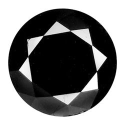 2.14ct Diamond Cut Black Jet Black Diamond VS (GEM-16550)