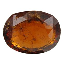 4.95 ct Oval Cut Natural Hessonite Garnet  (GEM-26514)