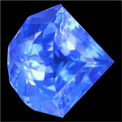 132.12ct Museum Size Cornflower Blue Fancy Quartz (GEM-23121)