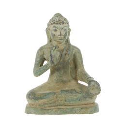 Antique Burma Bronze Buddha 2 Hand Positions (ANT-353)