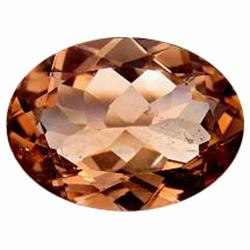 9.59ct Fire Rare Moderate Champagne Topaz  Appraisal Estimate $23975 (GEM-21000)