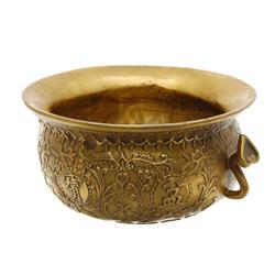 Vintage Chinese Gilded Lotus Pot  (ANT-584)