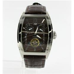 New Wohler Mens Tank Style Watch Retail $1895 (WAT-163)