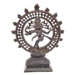 Large Hindu Bronze Dancing Shiva (ANT-569)