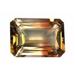 8.52ct Imperial Topaz Emerald Unheated Appraisal Estimate $21300 (GEM-19873)