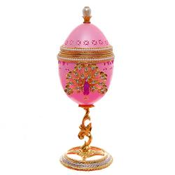 Ornate Gilded Decorated Goose Egg Jewelry Display (ACT-151)