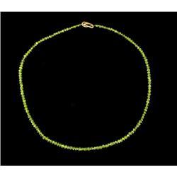 64.88ct Natural Peridot Faceted Beads 153pcs (GEM-23103)