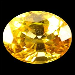 0.70ct Awesome Oval Cut Yellow Sapphire (GEM-26577A)