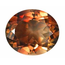 10.22ct Imperial Topaz Oval Unheated Appraisal Estimate $25550 (GEM-19883)