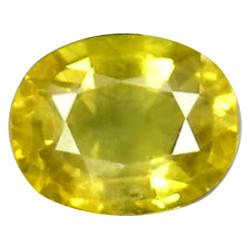 2.97ct Gorgeous Oval Canary Yellow Natural Sapphire (GEM-24398)
