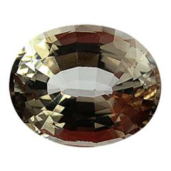 29.55ct Jumbo Rare Unheated Champagne Imperial Topaz Appraisal Estimate $73875 (GEM-24614)