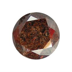 2.13ct Natural Red Brown Unheated Diamond (GEM-16855)