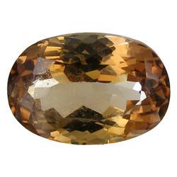 11.97ct VS Hot Imperial Orange Topaz Appraisal Estimate $23940 (GEM-26338)