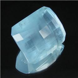 43.15ct Natural Blue Aquamarine Appraised $49k (GEM-19271)
