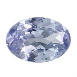 0.19ct Oval Cut Top AAA Blue Natural Tanzanite (GEM-7979F)