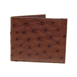 Mens Rare Ostrich Skin Wallet (ACT-073)
