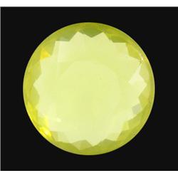 59.68ct Real AAA Green Gold Quartz Round (GEM-14661)