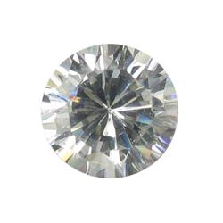 0.92ct 5mm VVS1 Brilliant White Lab Diamond (GEM-26572)
