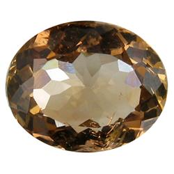 7.42ct VS Hot Imperial Orange Topaz Appraisal Estimate $14840 (GEM-26342)
